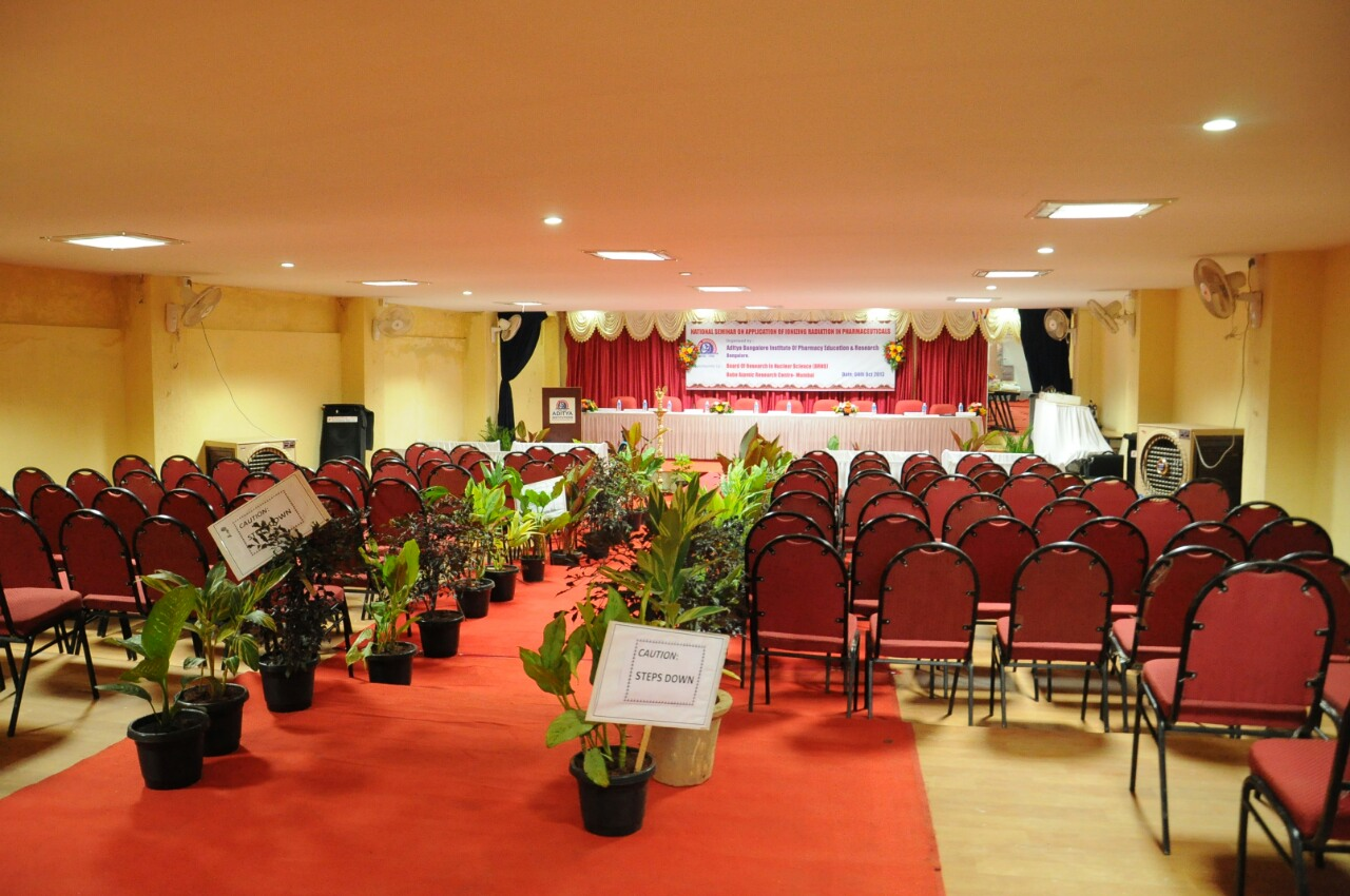 Auditorium of Aditya Management College Bangalore