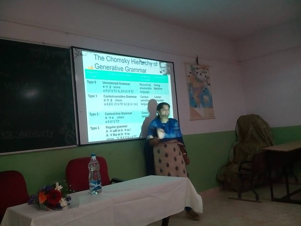 Seminar By Prof.Sara Kutty