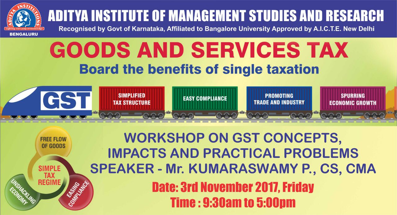 GST workshop 2017