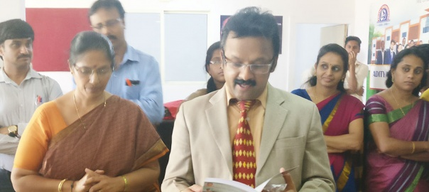 Hearty Congratulations to Dr  Sridhar, of Biotechnology